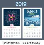 Calendar Design For 2019 Year....