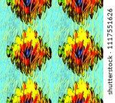 zebra tribal tiled print....   Shutterstock . vector #1117551626