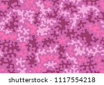fashionable camouflage pattern. ...   Shutterstock .eps vector #1117554218
