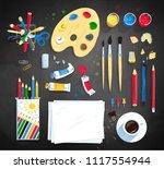 top view vector illustration...   Shutterstock .eps vector #1117554944
