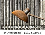 assembly from a background with ... | Shutterstock . vector #1117563986