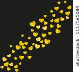 heart confetti background with...   Shutterstock .eps vector #1117565084