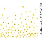 heart border background with...   Shutterstock .eps vector #1117565138