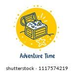 vector illustration of lovely...   Shutterstock .eps vector #1117574219