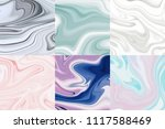 realistic stone marble... | Shutterstock .eps vector #1117588469