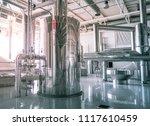 modern interior of a brewery... | Shutterstock . vector #1117610459