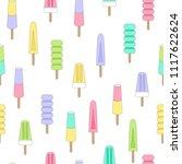 vector illustration  seamless... | Shutterstock .eps vector #1117622624
