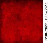 grunge red background texture   Shutterstock . vector #1117629920