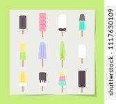 vector illustration eps 10  set ... | Shutterstock .eps vector #1117630109