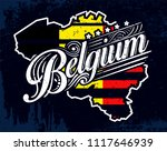 vintage colorful europe county... | Shutterstock .eps vector #1117646939
