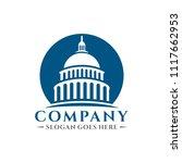 capitol building logo | Shutterstock .eps vector #1117662953