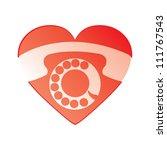 hot line sign | Shutterstock .eps vector #111767543