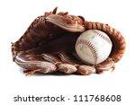 baseball glove | Shutterstock . vector #111768608