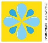 droplets pattern tile design | Shutterstock .eps vector #1117693913