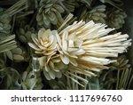 sandalwood flower with fragrant ... | Shutterstock . vector #1117696760