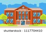 university building.education... | Shutterstock .eps vector #1117704410