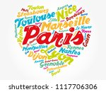 list of cities and towns in... | Shutterstock .eps vector #1117706306