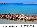 view of the beautiful coast... | Shutterstock . vector #1117713854