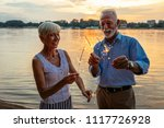 shot of a happy senior couple... | Shutterstock . vector #1117726928