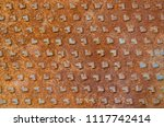 old rusted iron background. | Shutterstock . vector #1117742414