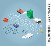 isometric concept illustration... | Shutterstock .eps vector #1117753616