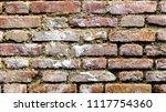 dirty brick wall | Shutterstock . vector #1117754360