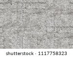 old gray wall background of... | Shutterstock . vector #1117758323