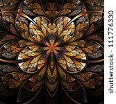 Symmetrical Flower  Warm And...
