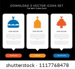business infographic template...   Shutterstock .eps vector #1117768478