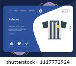 quality one page referee... | Shutterstock .eps vector #1117772924