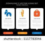 business infographic template...   Shutterstock .eps vector #1117783046