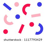 retro abstract pattern in... | Shutterstock .eps vector #1117793429