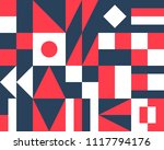abstract geometric pattern and... | Shutterstock .eps vector #1117794176