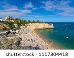 view from above of a beach in... | Shutterstock . vector #1117804418