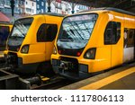 modern city transportations.... | Shutterstock . vector #1117806113