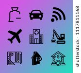 vector icon set about business... | Shutterstock .eps vector #1117811168