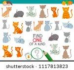 cartoon illustration of find... | Shutterstock .eps vector #1117813823