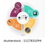 illustration for car... | Shutterstock .eps vector #1117831094