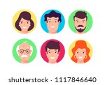 flat design vector illustration.... | Shutterstock .eps vector #1117846640