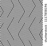 vector seamless pattern. modern ... | Shutterstock .eps vector #1117858196
