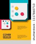 vector minimalistic cover...   Shutterstock .eps vector #1117860713