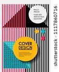 vector minimalistic cover...   Shutterstock .eps vector #1117860716