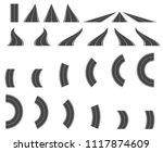 bending roads and high ways.... | Shutterstock .eps vector #1117874609