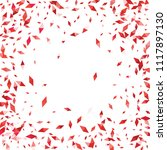 confetti of two colored rhombs... | Shutterstock .eps vector #1117897130
