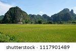landscape in tam coc  ninh binh ... | Shutterstock . vector #1117901489