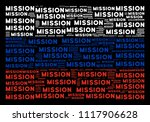 russia state flag composition... | Shutterstock .eps vector #1117906628