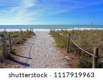 view of the beach in captiva... | Shutterstock . vector #1117919963