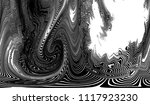 black and white grunge pattern... | Shutterstock . vector #1117923230