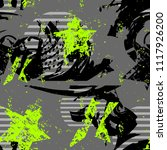 abstract seamless grunge urban... | Shutterstock .eps vector #1117926200