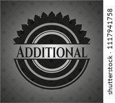 additional realistic black... | Shutterstock .eps vector #1117941758